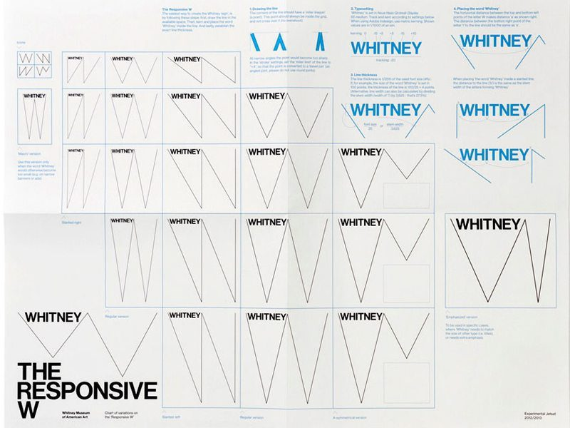 Whitney leverages a living logo to enhance its brand identity
