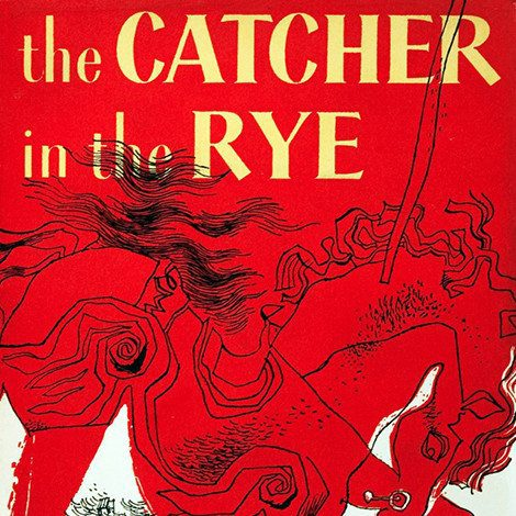 Image of the cover of Catcher in the Rye on David Collins bio page.