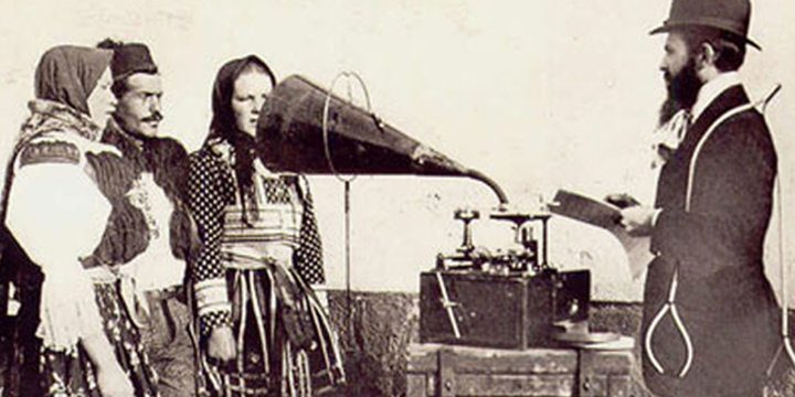 Early recording machine