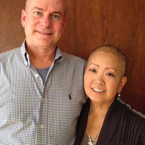 Picture of Lynn Umemoto and her husband Tom.