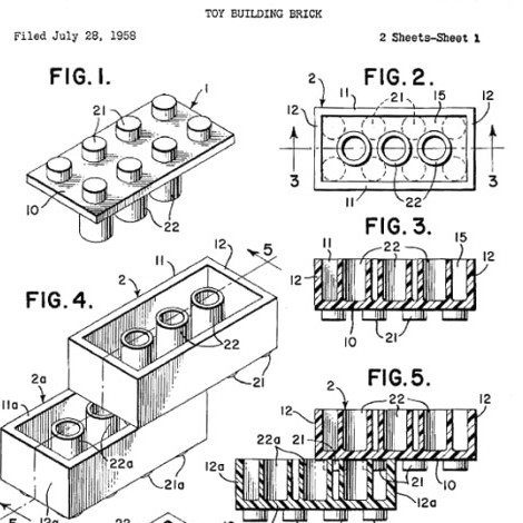 Diagram of a toy building brick on Sun's bio page.