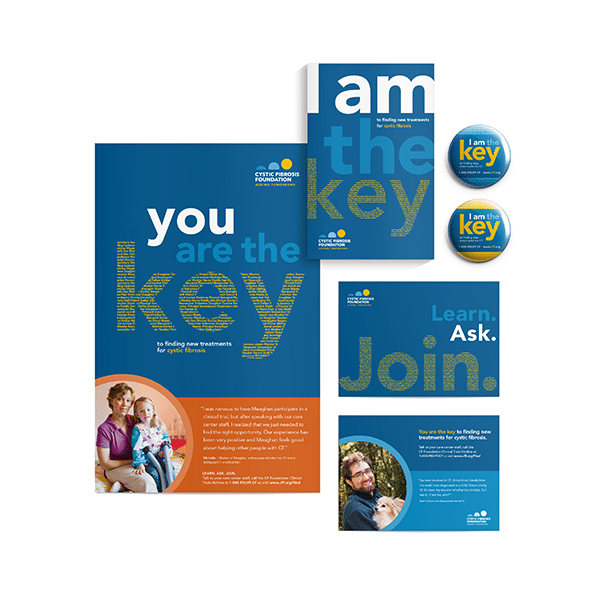 Grafik redesigned the promotional brochure for Cystic Fibrosis.