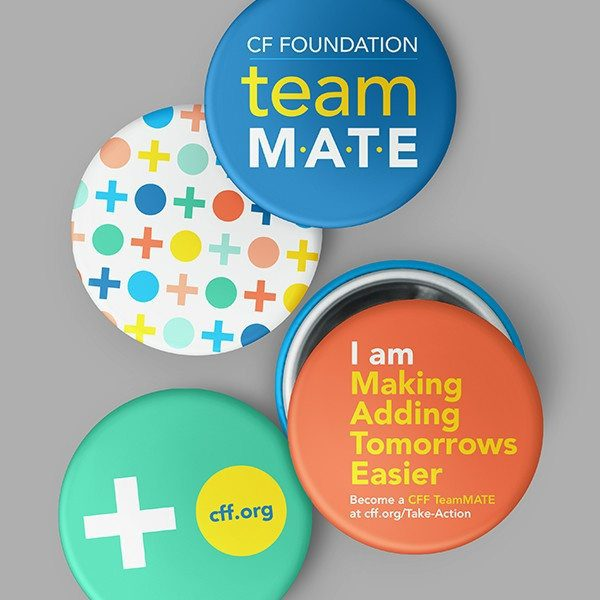 CFF buttons to further encompass the brand identity and marketing efforts for their TAKE ACTION campaign executed by digital designers at a top D.C. agency, Grafik.