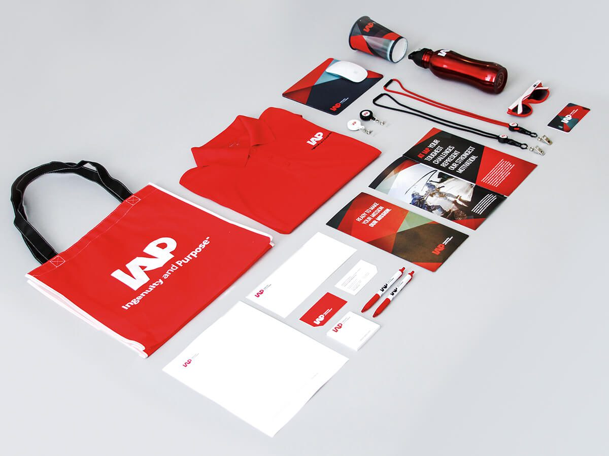 Brand identity created for IAP by the top digital marketing firm in Washington DC.
