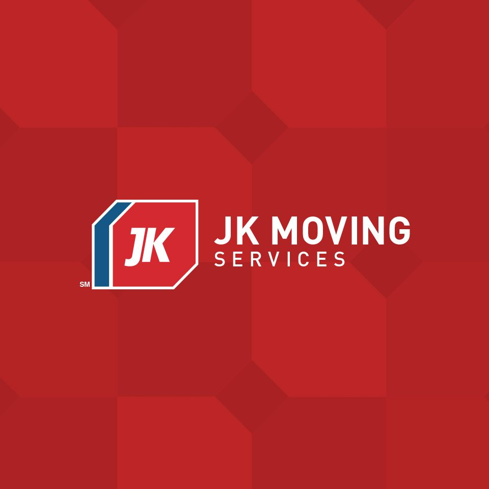 Thanks to the top brand agency, Grafik, JK Moving's new logo successfully embodies their new brand identity as part of their 6-month rebranding.