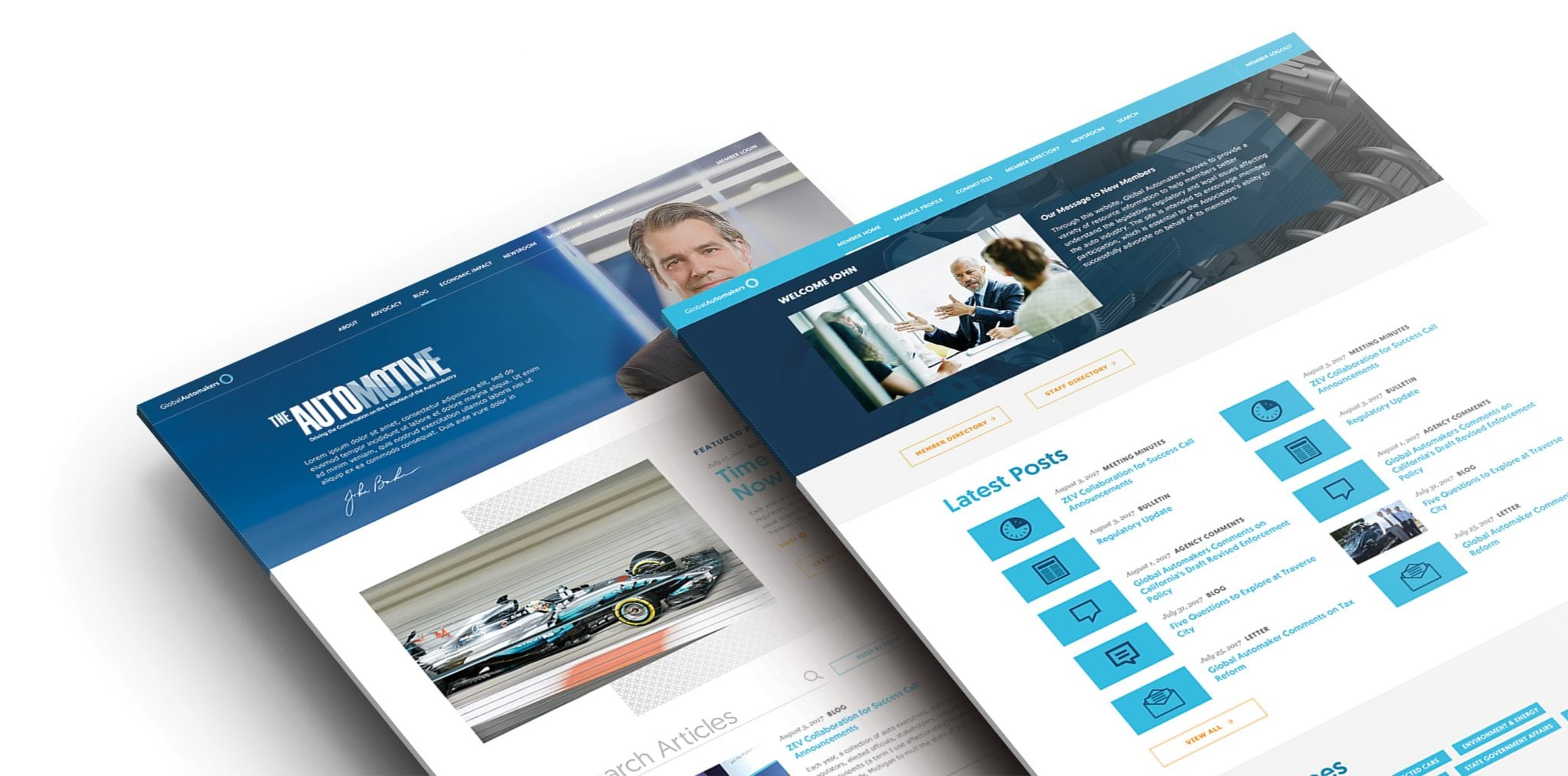 Global Automakers - The Automative Webpages