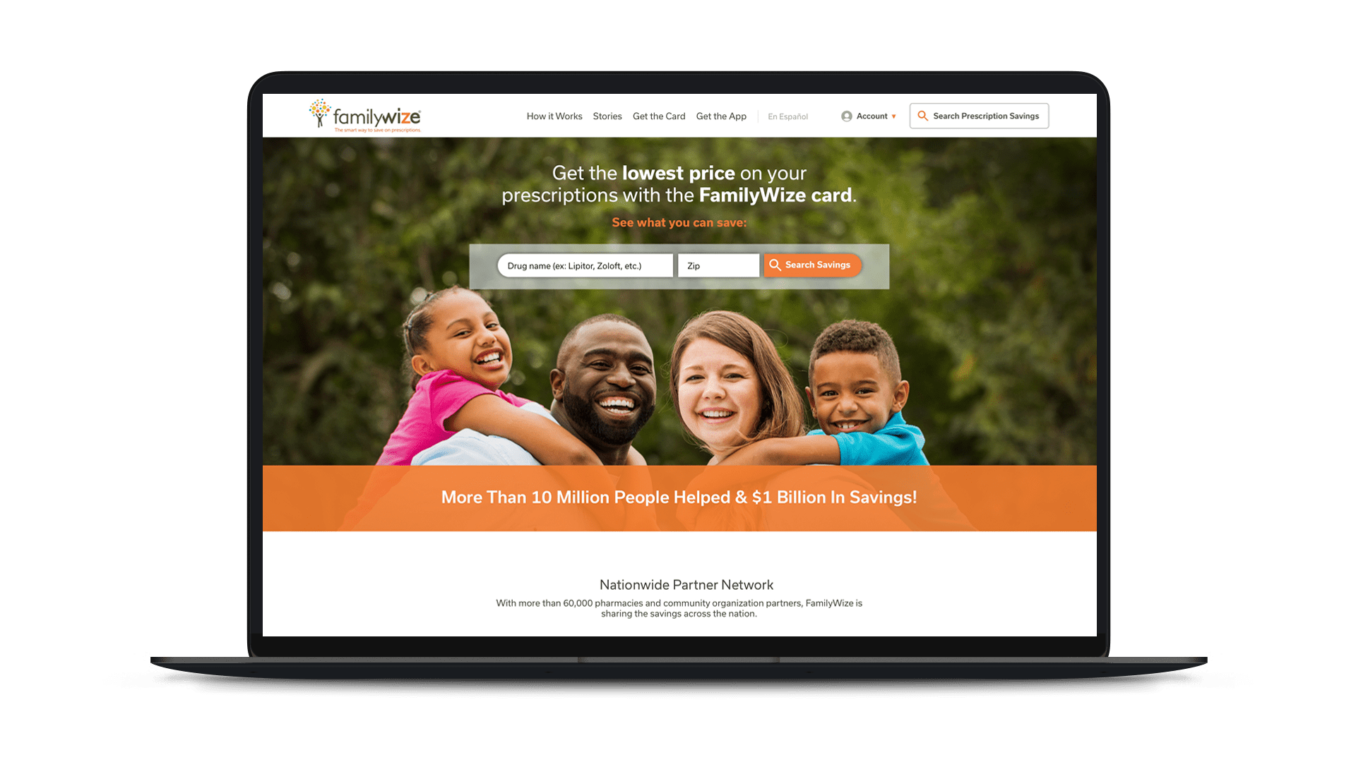familywize homepage