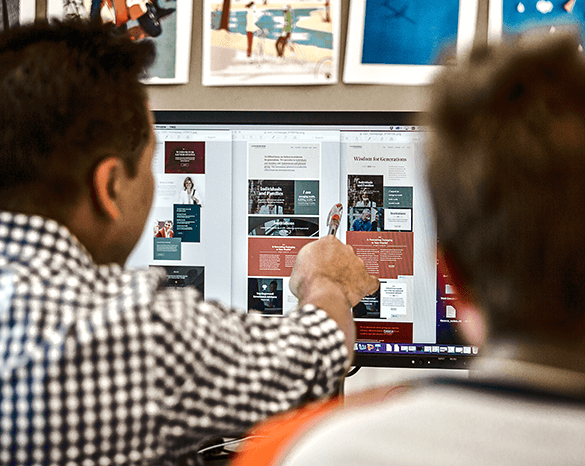 UX designers leveraging marketing personas and digital platforms to improve e-commerce performance.