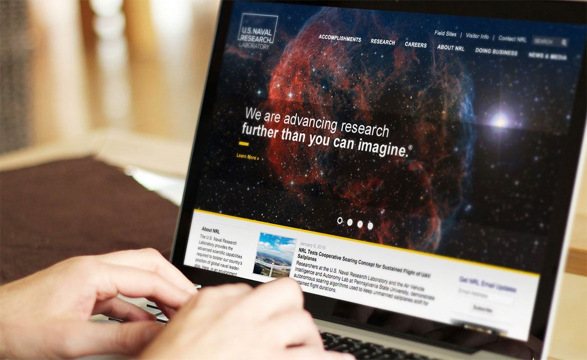 US Naval Research website